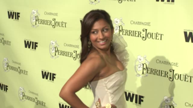 amrapali ambegaokar at the 2nd annual women in film preoscar cocktail party at los angeles ca - amrapali stock videos & royalty-free footage