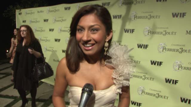 amrapali ambegaokar on the event the oscars at the 2nd annual women in film preoscar cocktail party at los angeles ca - amrapali stock videos & royalty-free footage