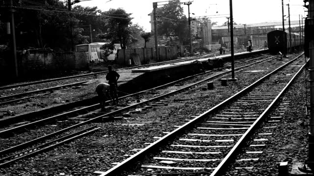 amritsar junction railway station, india - railway junction stock videos & royalty-free footage