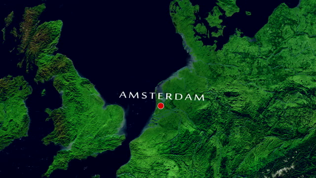 amsterdam 4k  zoom in - zoom in stock videos & royalty-free footage