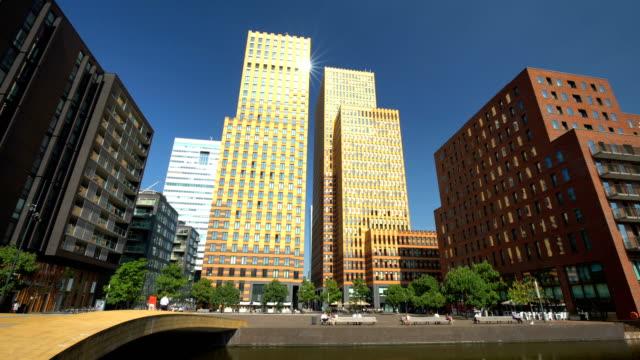 Amsterdam zakenwijk Zuidas, time-lapse