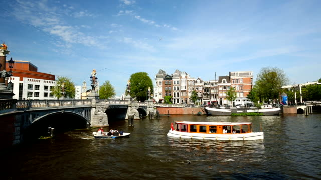 amsterdam canal - canal stock videos & royalty-free footage