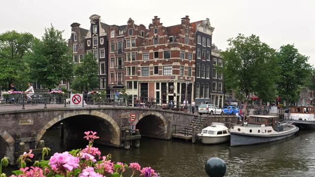 vidéos et rushes de ville d'amsterdam - obsolète