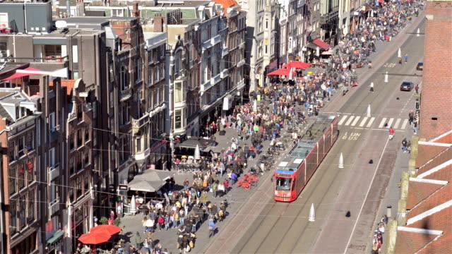 Amsterdam centrum luchtfoto