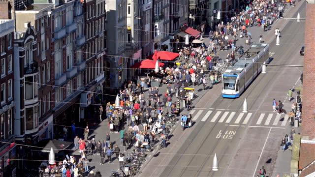Amsterdam downtown Damrak