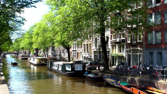 Amsterdam Postkarte Intro