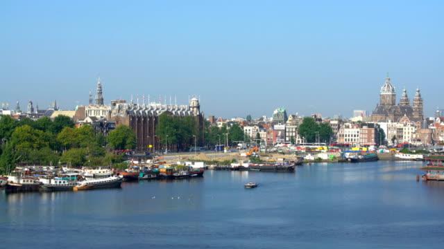 Skyline de Amsterdam, Time Lapse