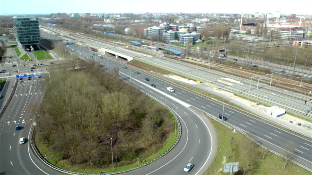 Amsterdam South highway traffic