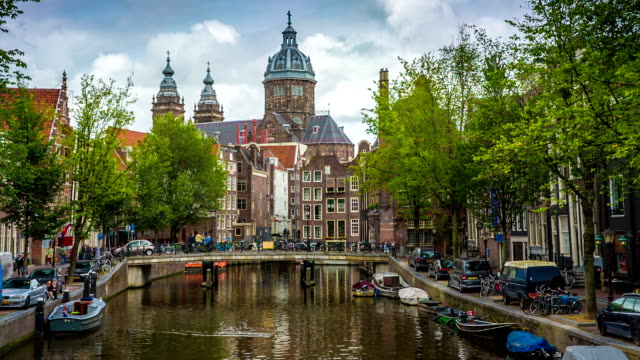 amsterdam - amsterdam stock videos & royalty-free footage