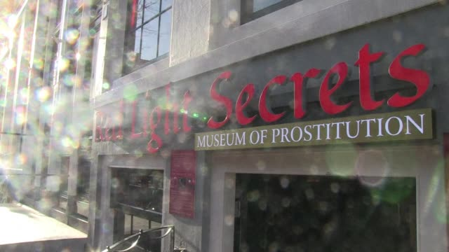 Amsterdam's redlight district opened its first prostitution museum on Thursday hoping to lure tourists who always wondered what life was like for...
