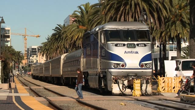 Amtrak Train Station in San Diego California on January 02 2013 in San Diego California