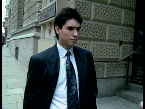 england london old bailey yurev gomez along to court with others - arcade fire stock videos & royalty-free footage