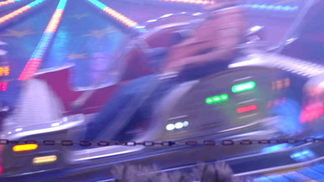 amusement park ride - tilt stock videos and b-roll footage