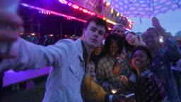 Amusement Park Selfie!