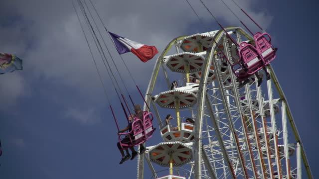 amusement park - 愛国心点の映像素材/bロール