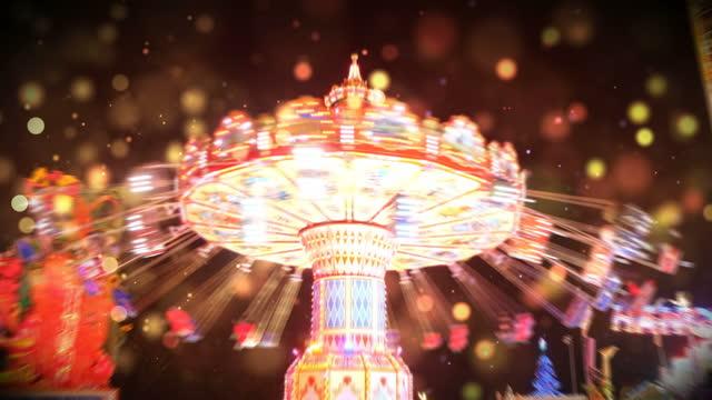amusement park, video - amusement park stock videos & royalty-free footage