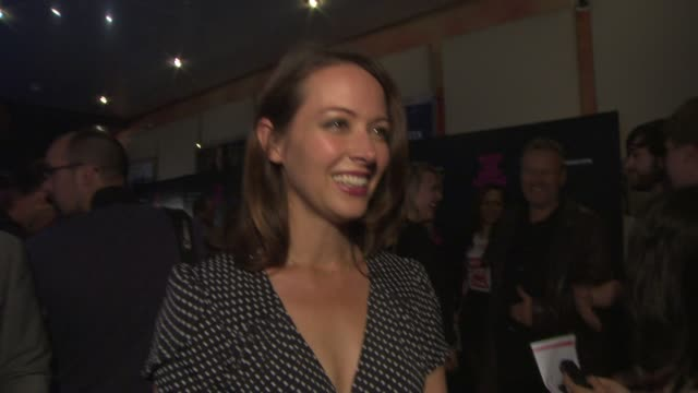 INTERVIEW Amy Acker on being in London what it was like filming on Joss Whedon being a Shakespeare fan at 'Much Ado About Nothing' Gala Screening at...