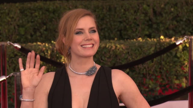 GIF Amy Adams at 23rd Annual Screen Actors Guild Awards Arrivals in Los Angeles CA