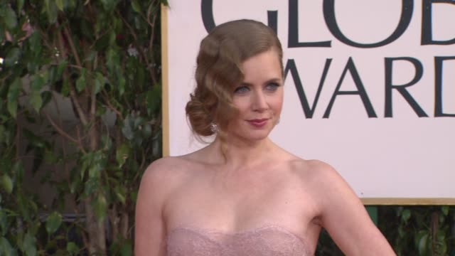 Amy Adams at 70th Annual Golden Globe Awards Arrivals on 1/13/13 in Los Angeles CA