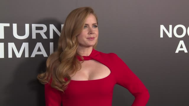 Amy Adams at 'Nocturnal Animals' New York Premiere Presented By Focus Features at The Paris Theatre on November 17 2016 in New York City