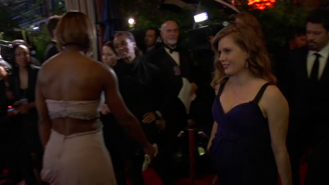 amy adams at the 2010 vanity fair oscar party hosted by graydon carter at west hollywood ca - amy carter stock videos & royalty-free footage