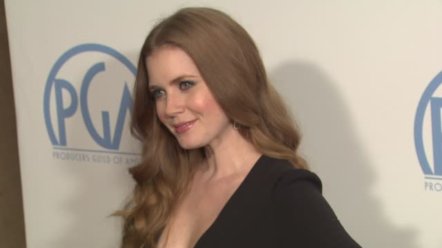 Amy Adams at the 2011 Producers Guild Awards at Beverly Hills CA