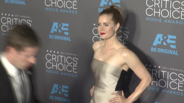 Amy Adams at the 20th Annual Critics' Choice Awards at Hollywood Palladium on January 15 2015 in Los Angeles California