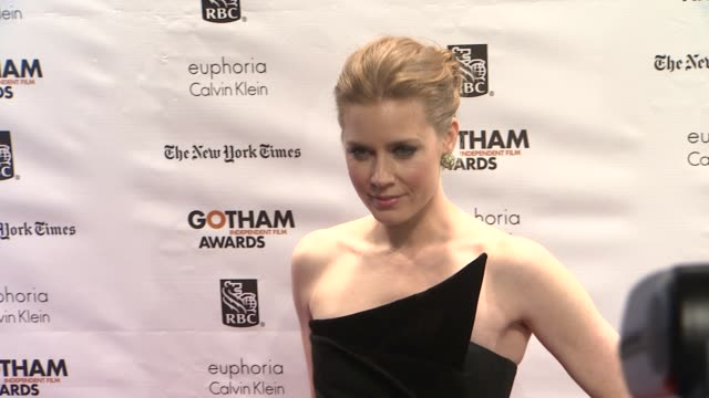 amy adams at the 22nd annual gotham independent film awards at cipriani wall street on november 26, 2012 in new york, new york - independent feature project stock videos & royalty-free footage