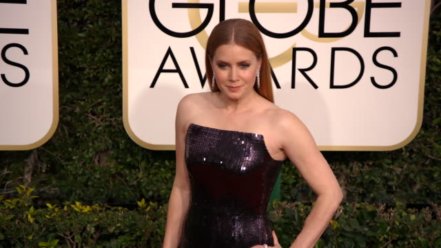 Amy Adams at the 74th Annual Golden Globe Awards Arrivals at The Beverly Hilton Hotel on January 08 2017 in Beverly Hills California 4K
