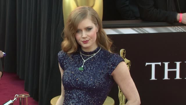 Amy Adams at the 83rd Annual Academy Awards Arrivals at Hollywood CA