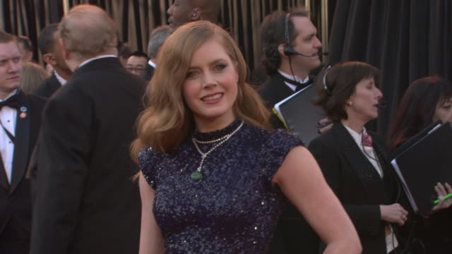 Amy Adams at the 83rd Annual Academy Awards Arrivals Pool Cam at Hollywood CA