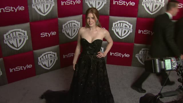 Amy Adams at the In Style and Warner Bros Studios 10th Annual Golden Globes AfterPart at Los Angeles CA