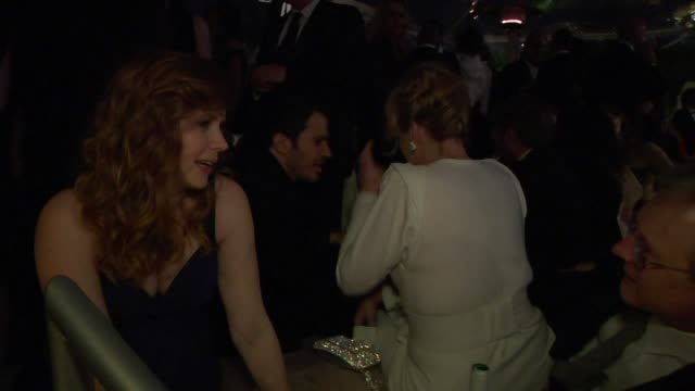 amy adams at the inside the vanity fair oscar party 2010 at west hollywood ca - oscar party stock videos & royalty-free footage