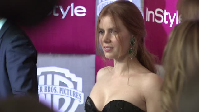 Amy Adams at the InStyle 2009 Golden Globes After Party Part 4 at Los Angeles CA