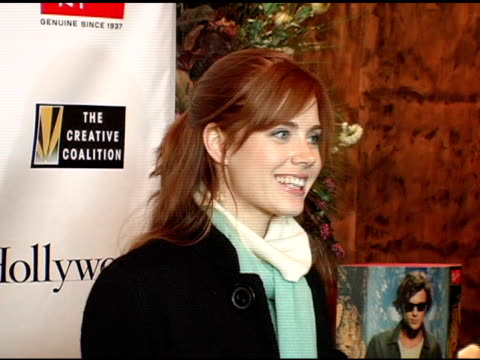 Amy Adams at the Kevin Bacon Reception of the 2005 RayBan Visionary Award Hosted by Creative Coalition and Hollywood Life at Stein Eriksen in Park...