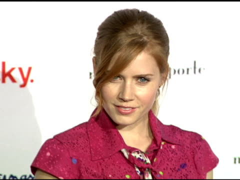 Amy Adams at the Miss Davenporte Trunk Show Hosted By Lucky Magazine at Ron Herman in Los Angeles California on November 17 2005