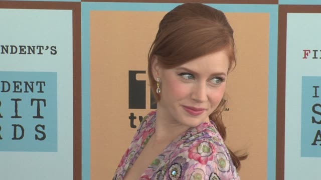 Amy Adams at the The 21st Annual IFP Independent Spirit Awards in Santa Monica California on March 4 2006