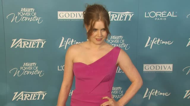 Amy Adams at the Variety's 2nd Annual Power Of Women Luncheon at Beverly Hills CA