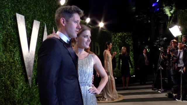 Amy Adams Darren Le Gallo at The 2013 Vanity Fair Oscar Party Hosted By Graydon Carter The 2013 Vanity Fair Oscar Party Hosted By Graydon Carter at...