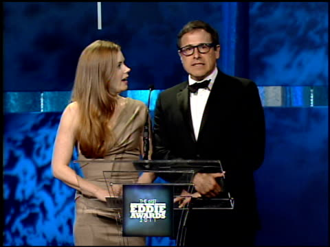 Amy Adams David O Russell at the 61st Annual ACE Eddie Awards at Beverly Hills CA