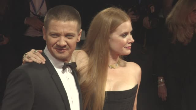 Amy Adams Jeremy Renner at 'Arrival' Red Carpet 73rd Venice Film Festival at Palazzo del Cinema on September 01 2016 in Venice Italy