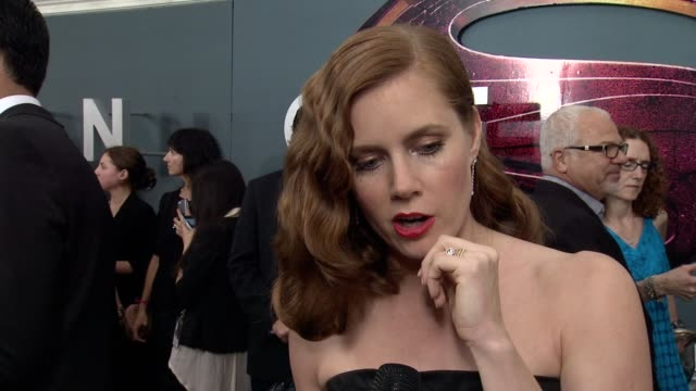 INTERVIEW Amy Adams on being a part of history and playing an iconic role at Man Of Steel' World Premiere Arrivals at Alice Tully Hall Lincoln Center...