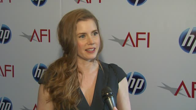 Amy Adams on being at the event at the 2010 AFI Awards at Los Angeles CA