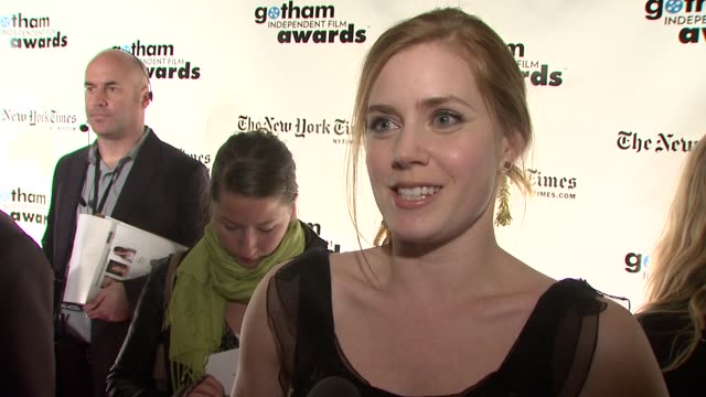 Amy Adams on presenting the award which she had previously won what makes it a special night and why its important to honor independent films She...