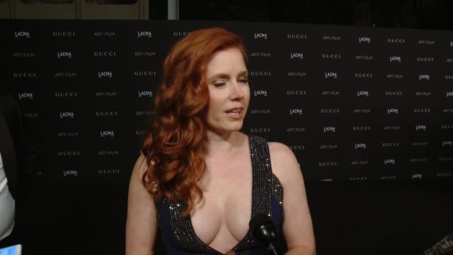 INTERVIEW Amy Adams on why she loves LACMA and talks about playing an artist in her new film Big Eyes 2014 LACMA ArtFilm Gala Honoring Barbara Kruger...