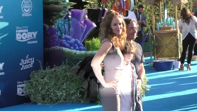 Amy Brenneman at Finding Dory Premiere at El Capitan Theatre in Hollywood in Celebrity Sightings in Los Angeles