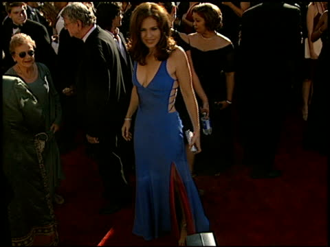Amy Brenneman at the 2002 Emmy Awards at the Shrine Auditorium in Los Angeles California on September 22 2002