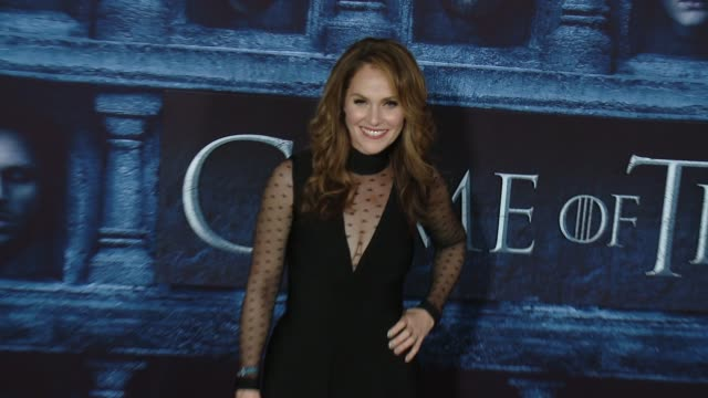 Amy Brenneman at the 'Game Of Thrones Season 6' Los Angeles Premiere at TCL Chinese Theatre on April 10 2016 in Hollywood California