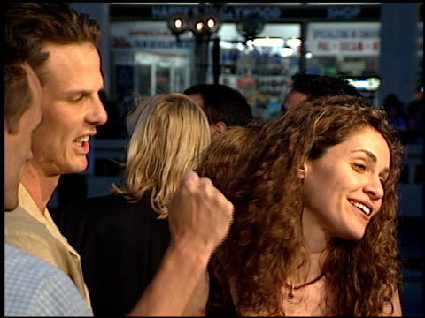 Amy Brenneman at the 'Great White Hype' Premiere at Grauman's Chinese Theatre in Hollywood California on May 1 1996