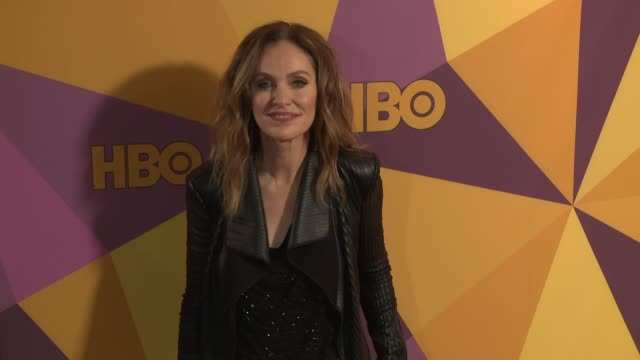 Amy Brenneman at the HBO Post Golden Globes Party at Circa 55 Restaurant on January 07 2018 in Los Angeles California